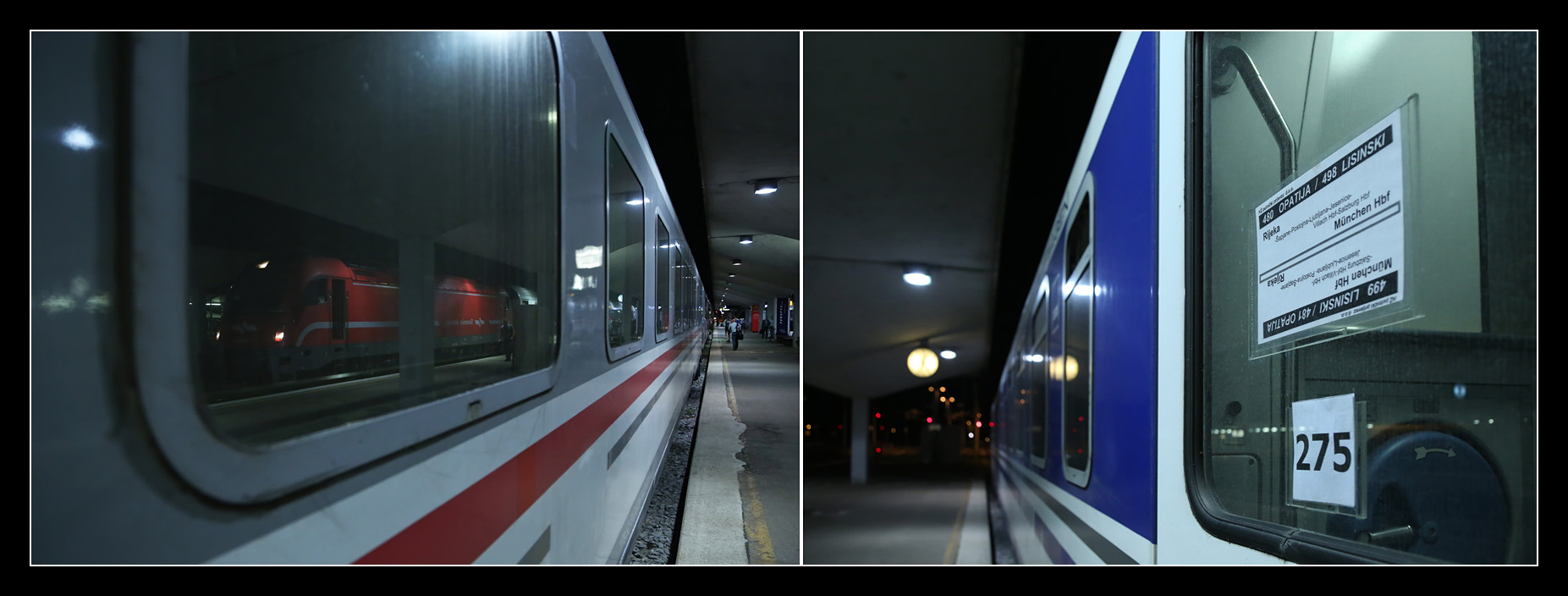 zagreb paris train